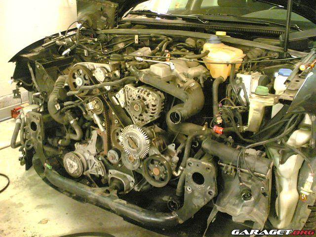 Garaget Kamremsbyte P 229 Audi A4 1 8t